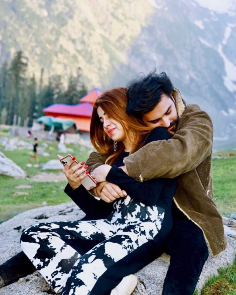 Dr Madiha With Husband MJ Ahsan - Pictures From Kumrat Valley