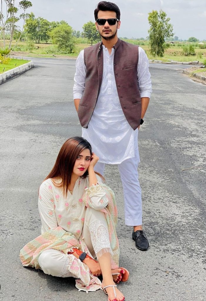 Celebrity Couples From Eid Ul Azha 2021 Second Day - Pictures
