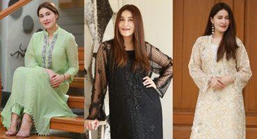 Shaista Lodhi Dazzles In Her Eid Looks