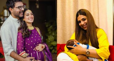 Sonya Hussyn Goes To Visit Iqra And Yasir's Baby