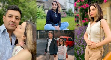 Latest Adorable Pictures of Armeena Khan with her Husband