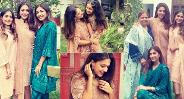 Sanam Jung Eid Pictures With Family