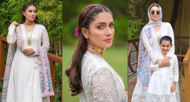 Ayeza Khan Dazzles In Her Latest Eid Pictures