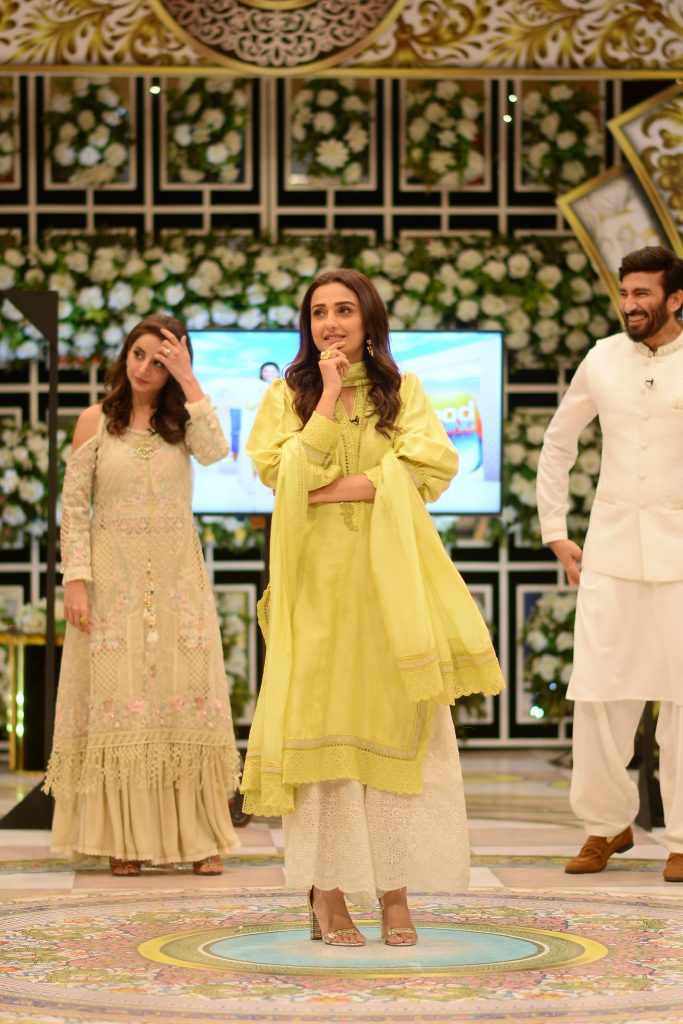 Celebrities Pictures From GMP Eid Show - Day 1