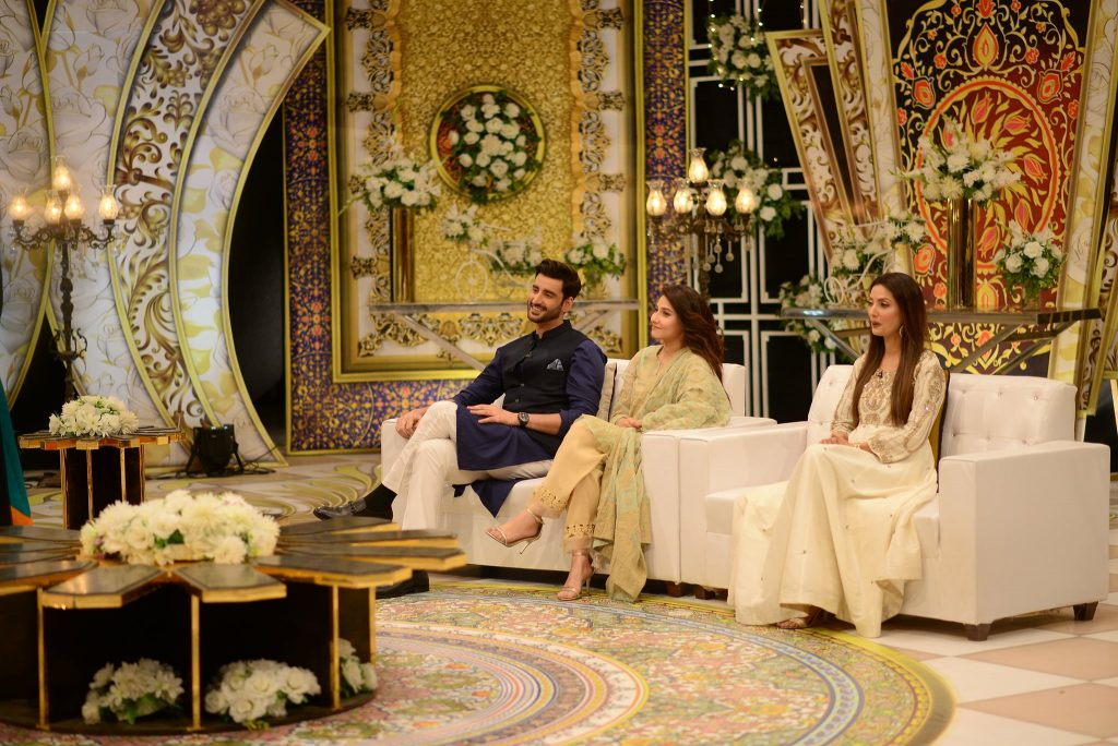Celebrities At GMP Special Eid Show - Day 2