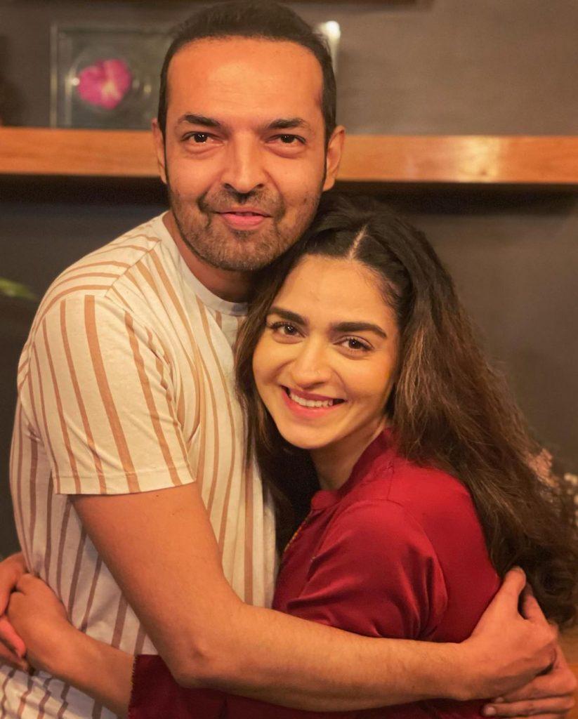 Hajra Yamin's On-Set Birthday Celebration