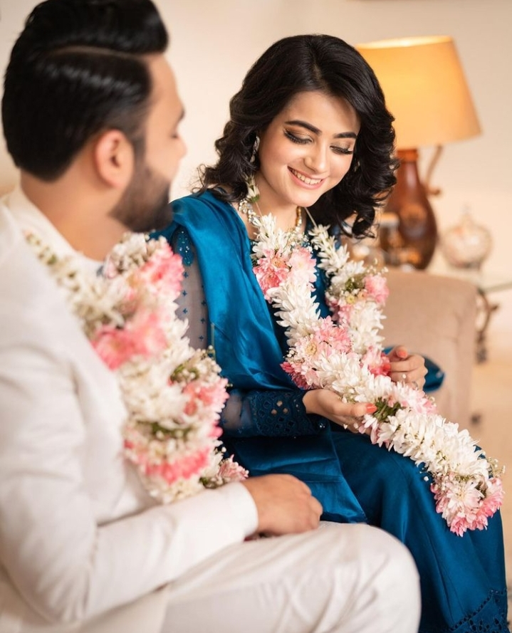 Kompal Iqbal Shared Throwback Pictures From Her Engagement