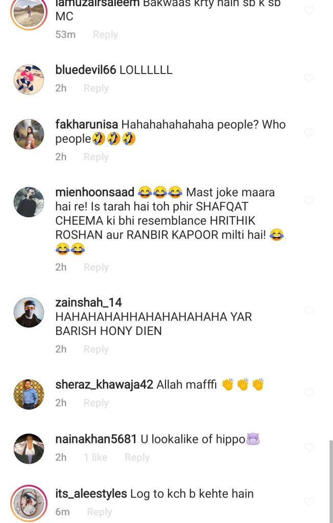Netizens' Interesting Comments on Javeria Saud's Statement