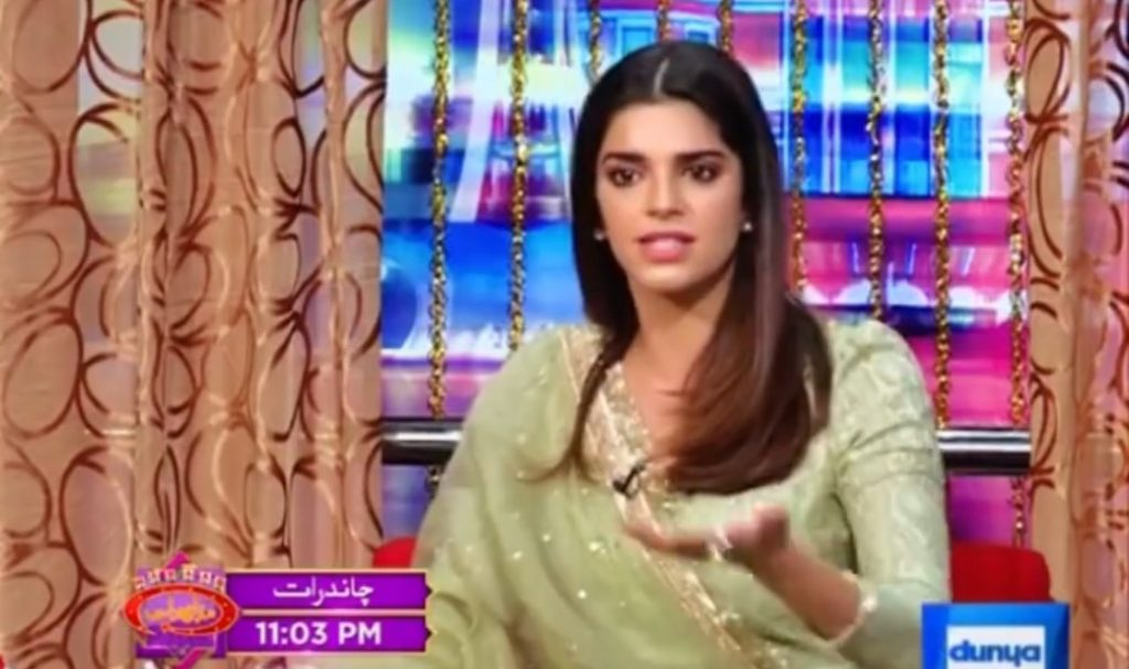 What Qualities Sanam Saeed Likes in Men