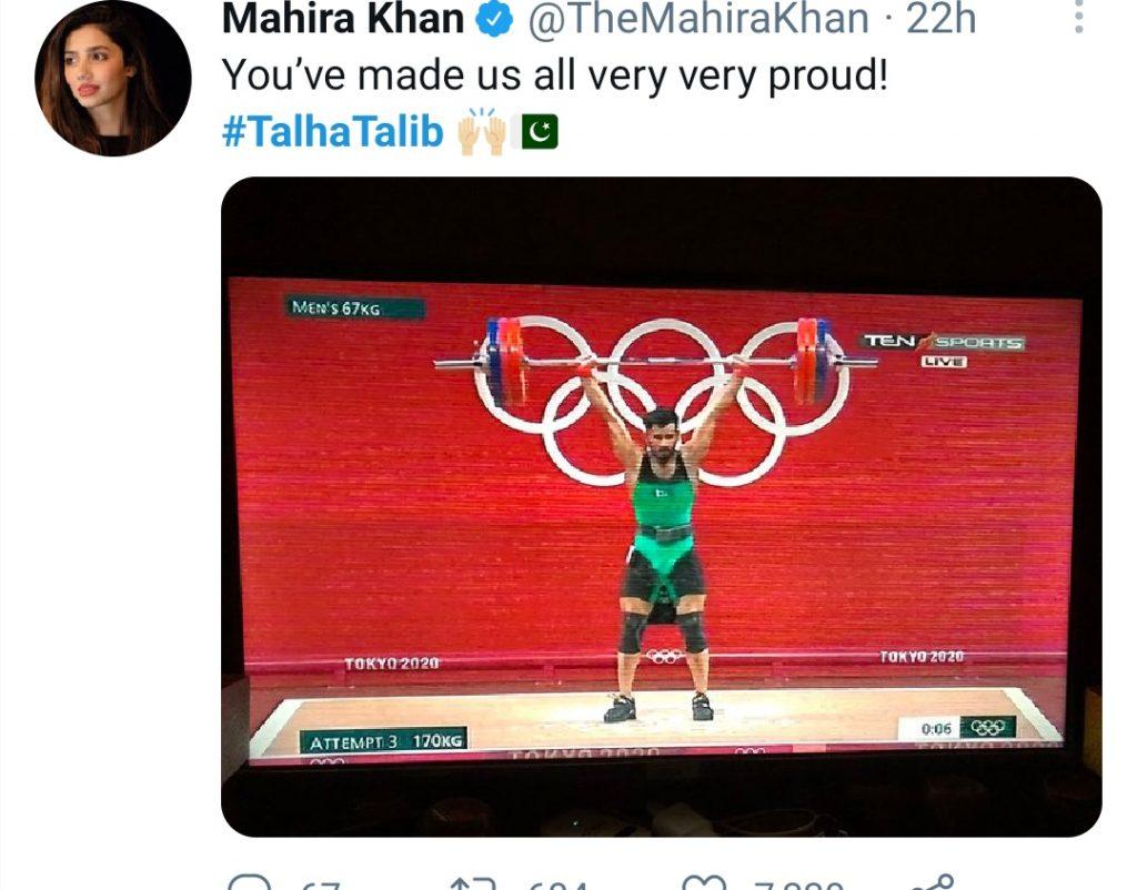 Celebrities Congratulate Talha Talib Who Made Pakistan Proud