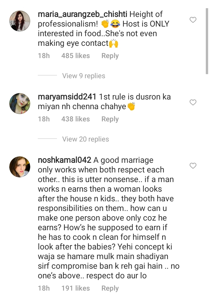 Netizens React To Marriage Rules Stated By Sadaf Kanwal