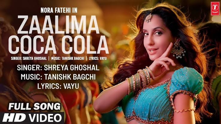 Netizens Are Not Happy With Indian Remake Of Iconic Song Zaalima Coca Cola Pila De