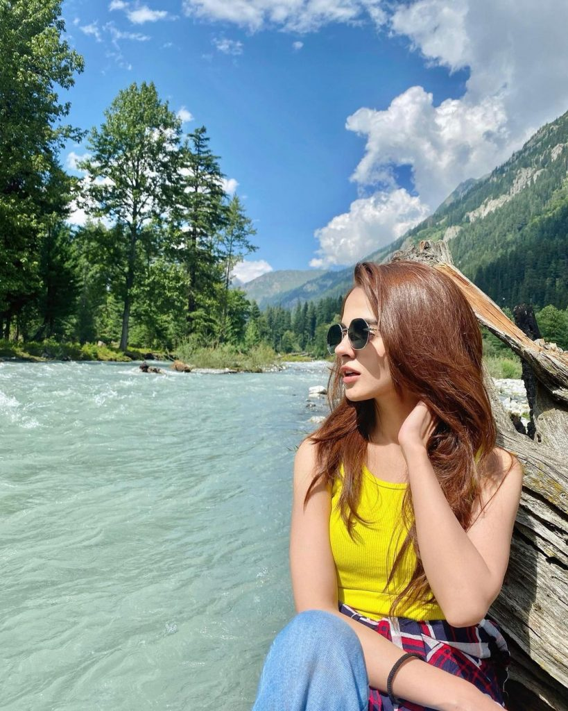 Komal Meer Beautiful Clicks From Her Vacations