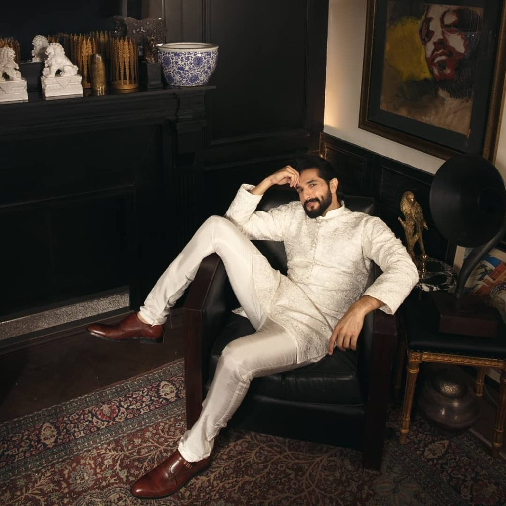 Maya Ali And Bilal Ashraf Flaunting Their Chic Style In HSY'S Latest Collection