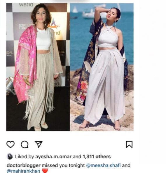 Meesha Shafi Reacts To Ali Zafar's Active Participation In HSA 2021
