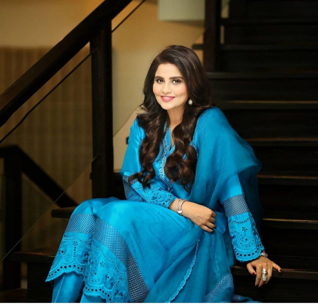 Samina Humayun And Sana Shahnawaz Eid Pictures