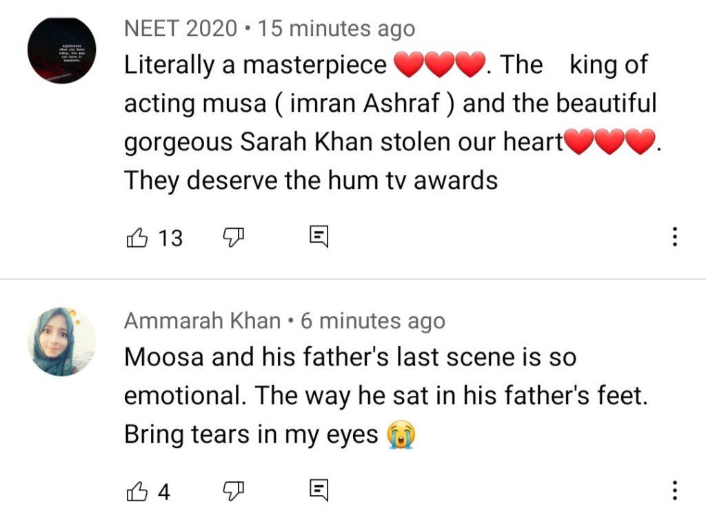 Public Reaction On The Last Episode Of Raqs-e-Bismil - Won People's Heart