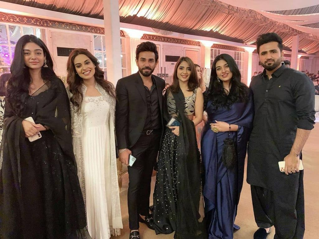Celebrities Spotted At Shahmir Shunaid's Reception
