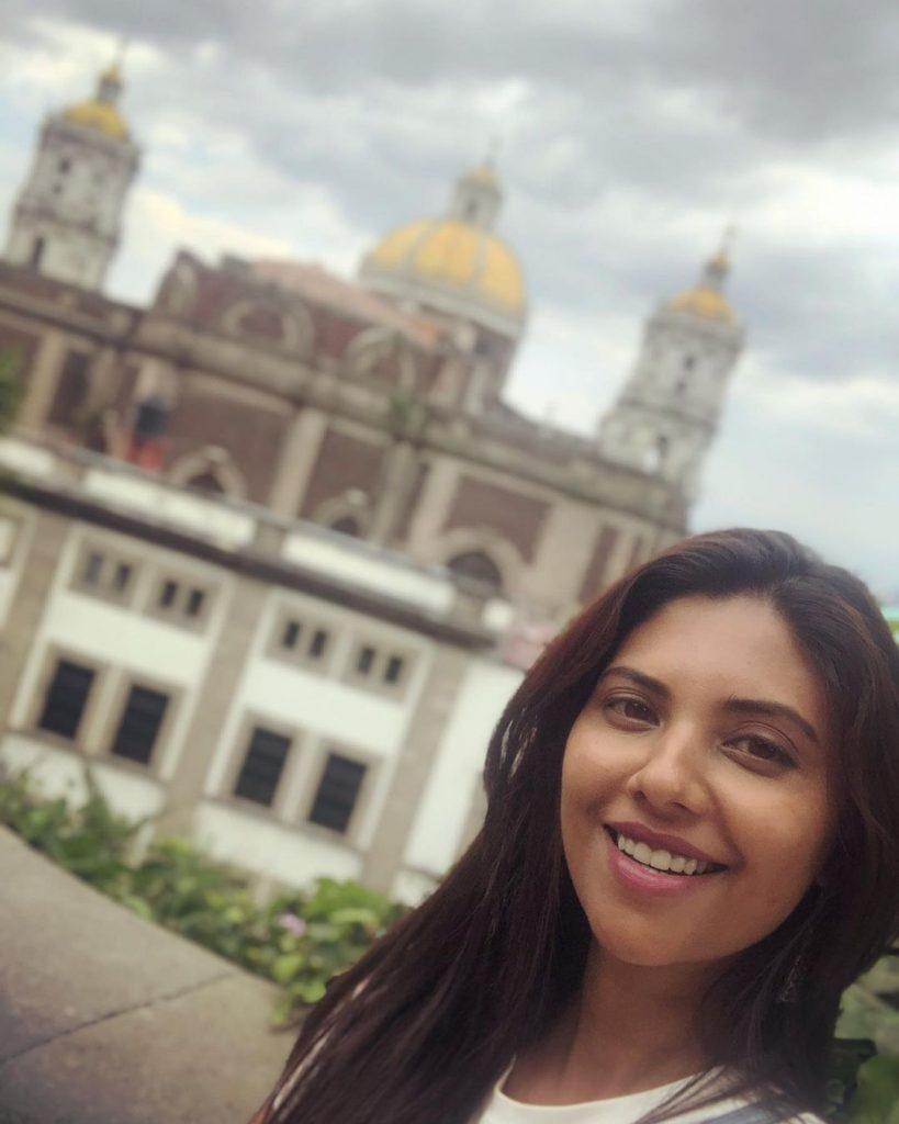 Sunita Marshall Vacationing With Her Family In Mexico