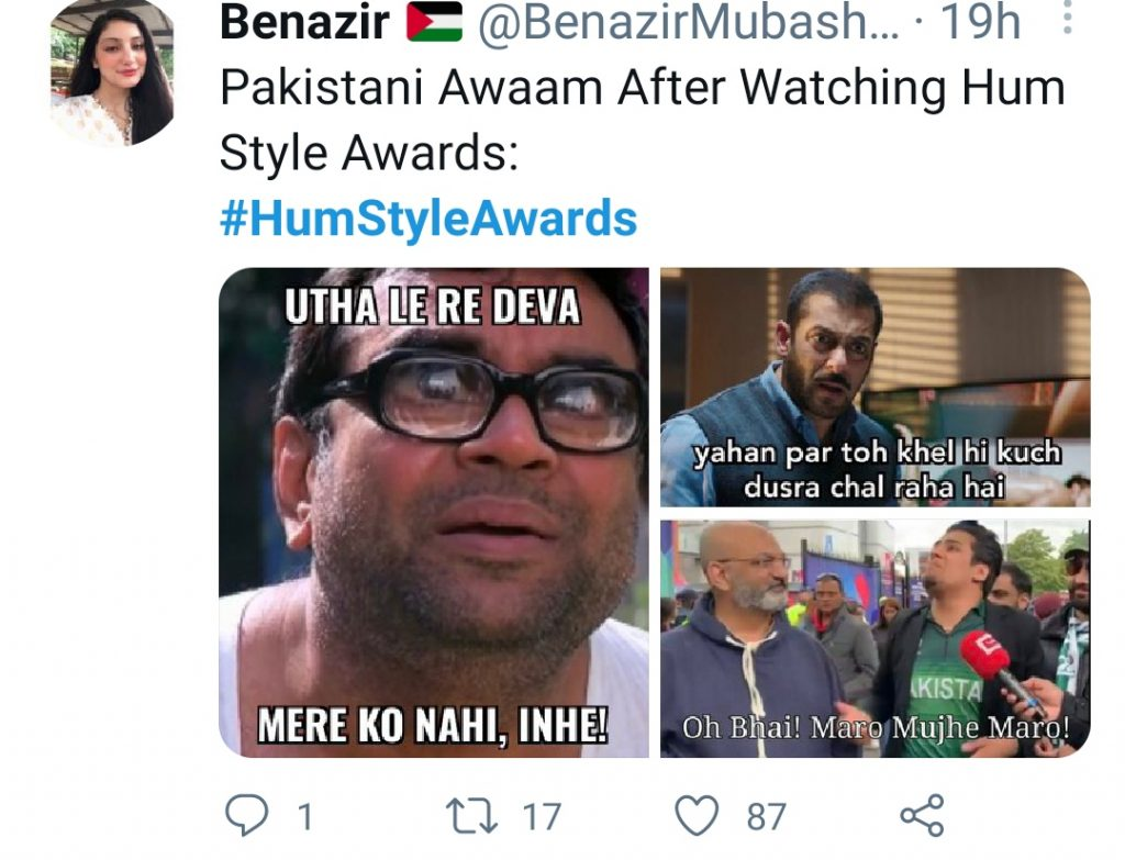 Twitter Outpouring With Memes on Weirdly Dressed Up Celebrities At HSA