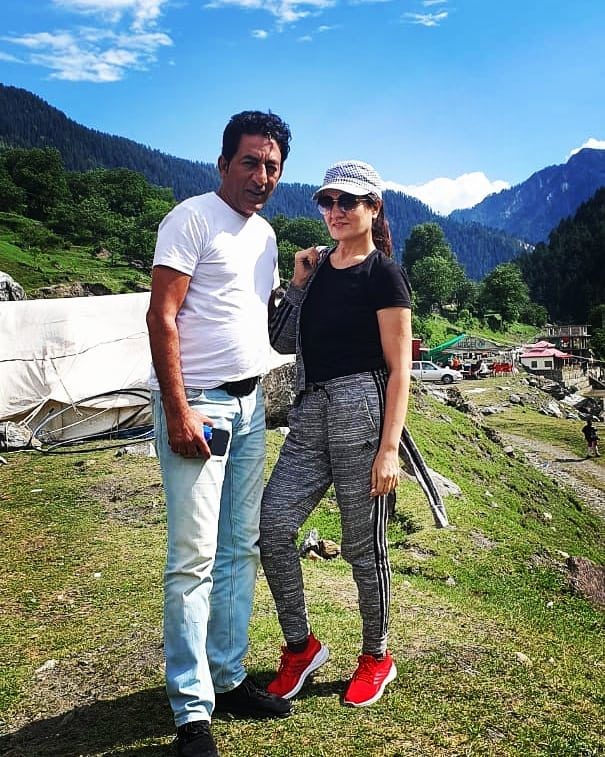 Adnan Shah Tipu Vacationing With Family In Northern Areas Of Pakistan