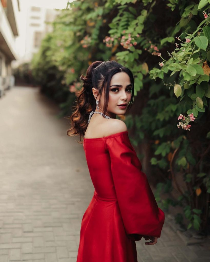 Enchanting Portraits Of Aima Baig And Shahbaz Shigri From HSA'21
