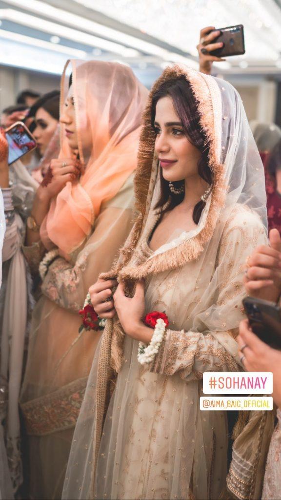 Aima Baig Attending Her Best Friend's Wedding