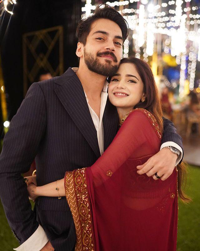 Aima Baig And Shahbaz Shigri Got Engaged