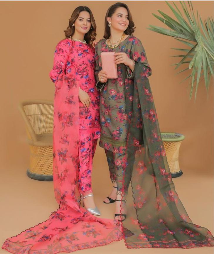 Aiman Minal's Closet Latest Eid Collection'21