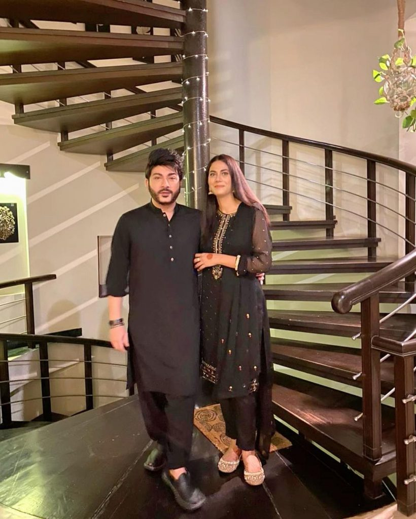 Star-Studded Eid Clicks Of Newly Wed Akif Ilyas