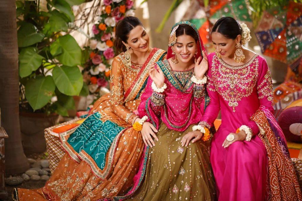 Anmol Baloch Flaunts Elegance In Bridal Shoot For Sana Abbas