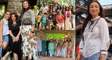 Anoushey Ashraf With Her Family-Beautiful Pictures From USA