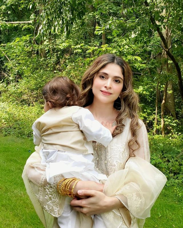 Actress Arij Fatyma With Her Family- Latest Adorable Pictures
