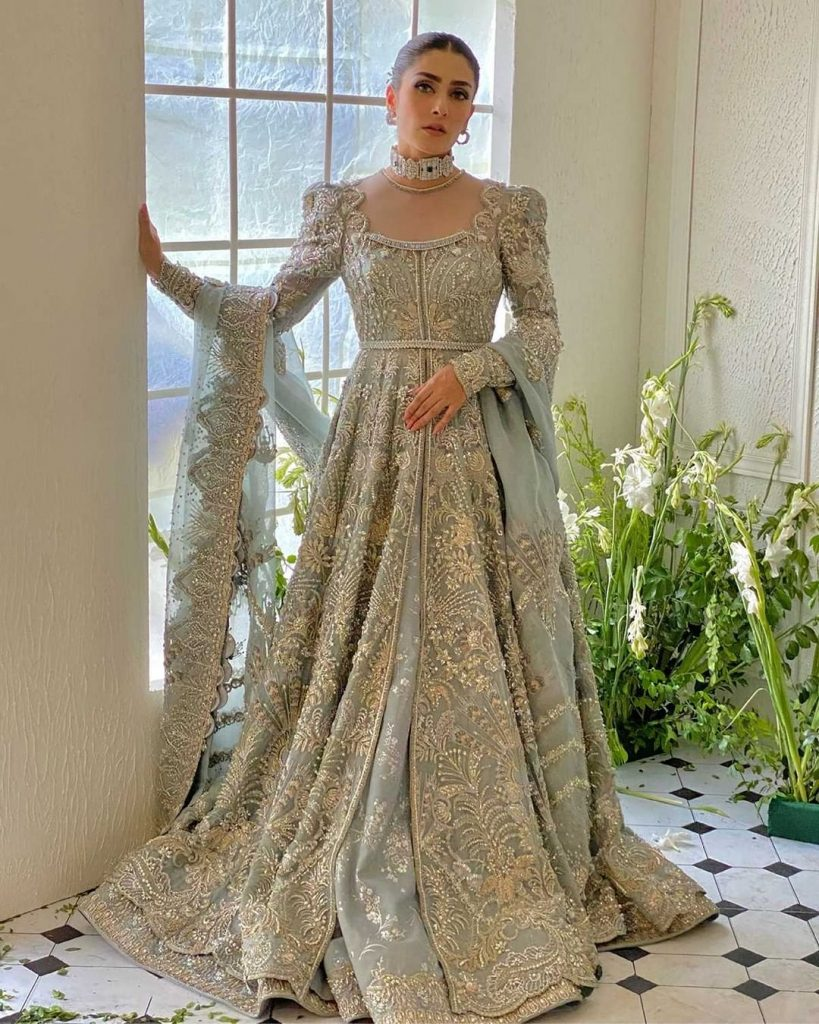 Suffuse Bridal Wear Featuring Ayeza Khan