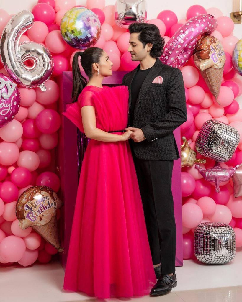 Ayeza Khan Celebrates Her Daughter's Sixth Birthday Bash