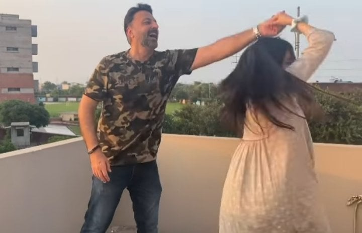 Babar Ali Recreates Video Of His Iconic Song With Daughter