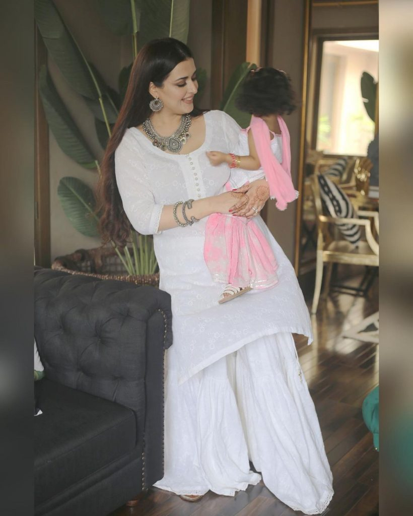 Natasha Ali Beguiling Pictures From Eid Family Feast