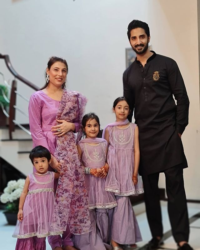 Danish Taimoor With His Family- Adorable Eid Pictures