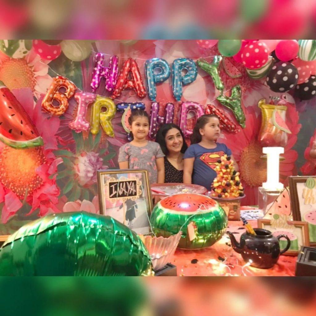 Madiha Rizvi Celebrates Her Daughter's Birthday