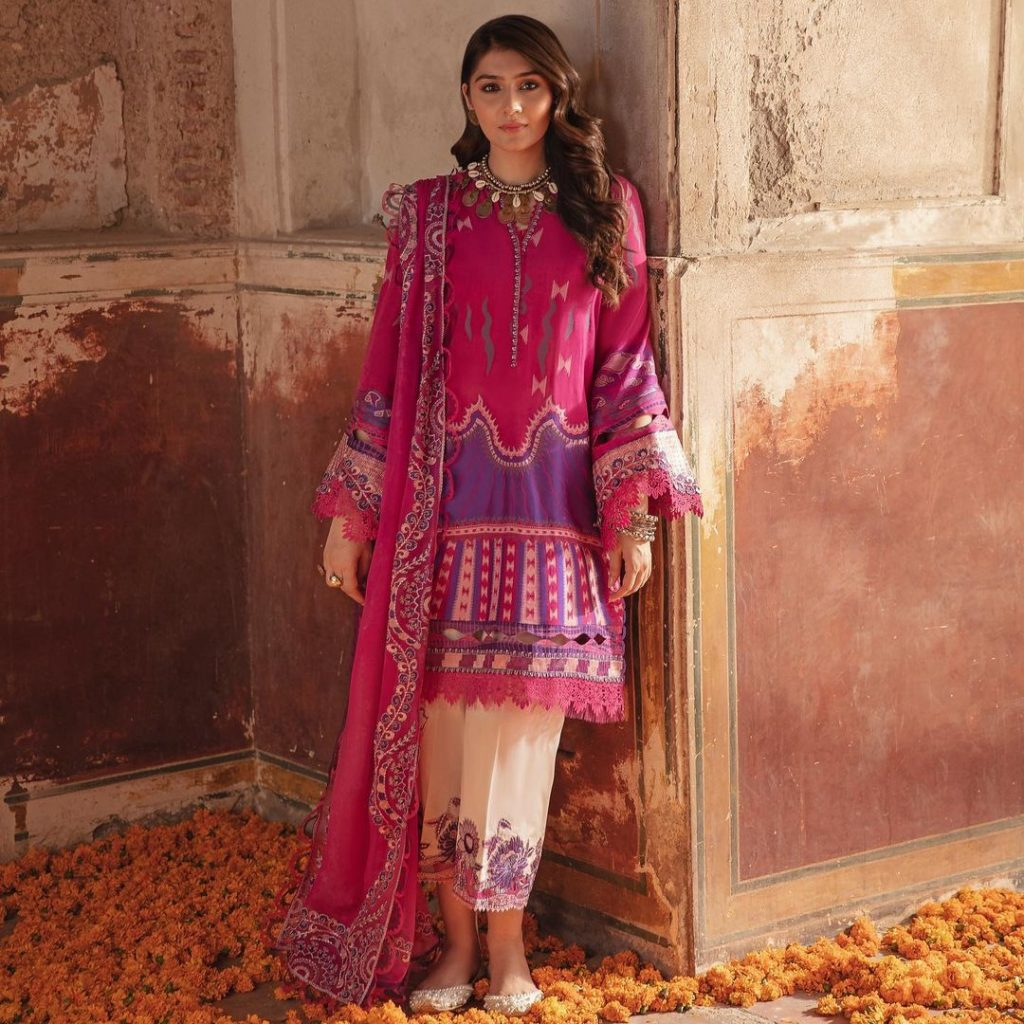 Republic's Upcoming Unstitched Lawn Collection Featuring Dur-e-Fishan Saleem