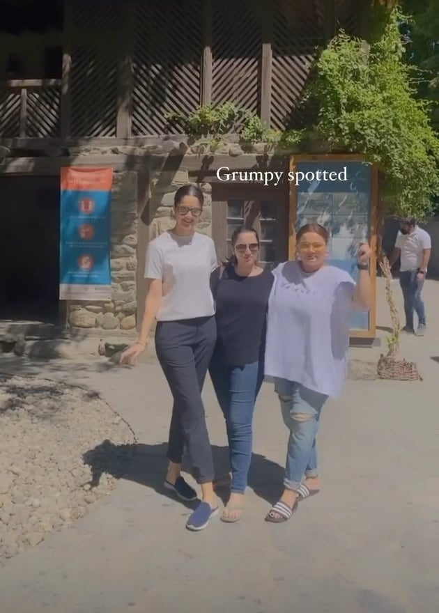 Faiza Saleem Vacationing With Her Friends In Northern Areas Of Pakistan