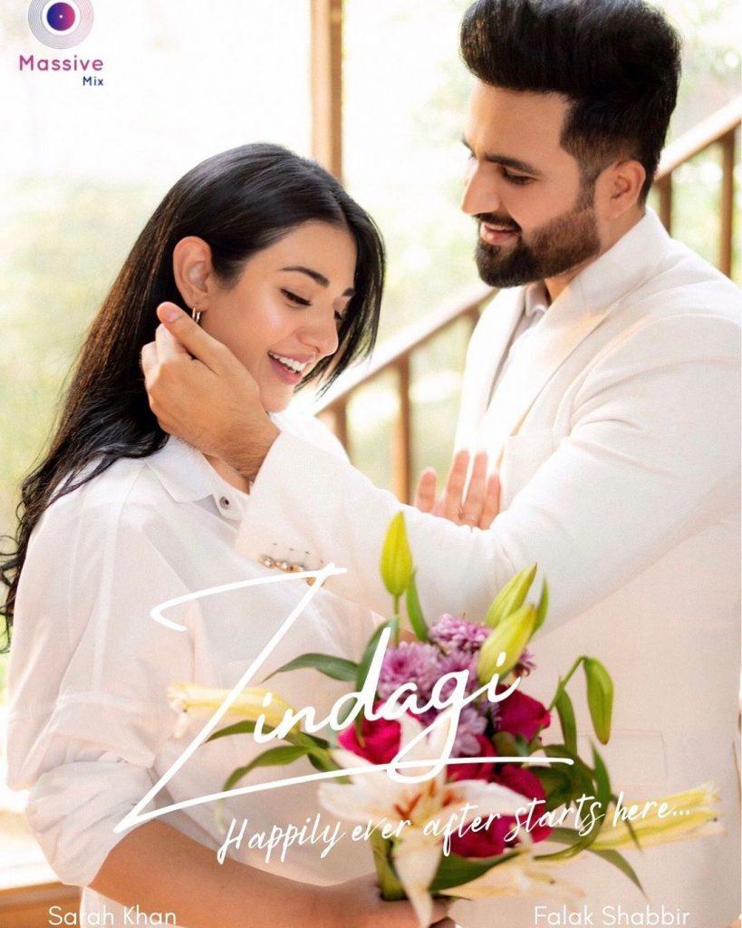 """""""Zindagi"""" Featuring Falak Shabir And Sarah Khan - Teaser Out Now"""