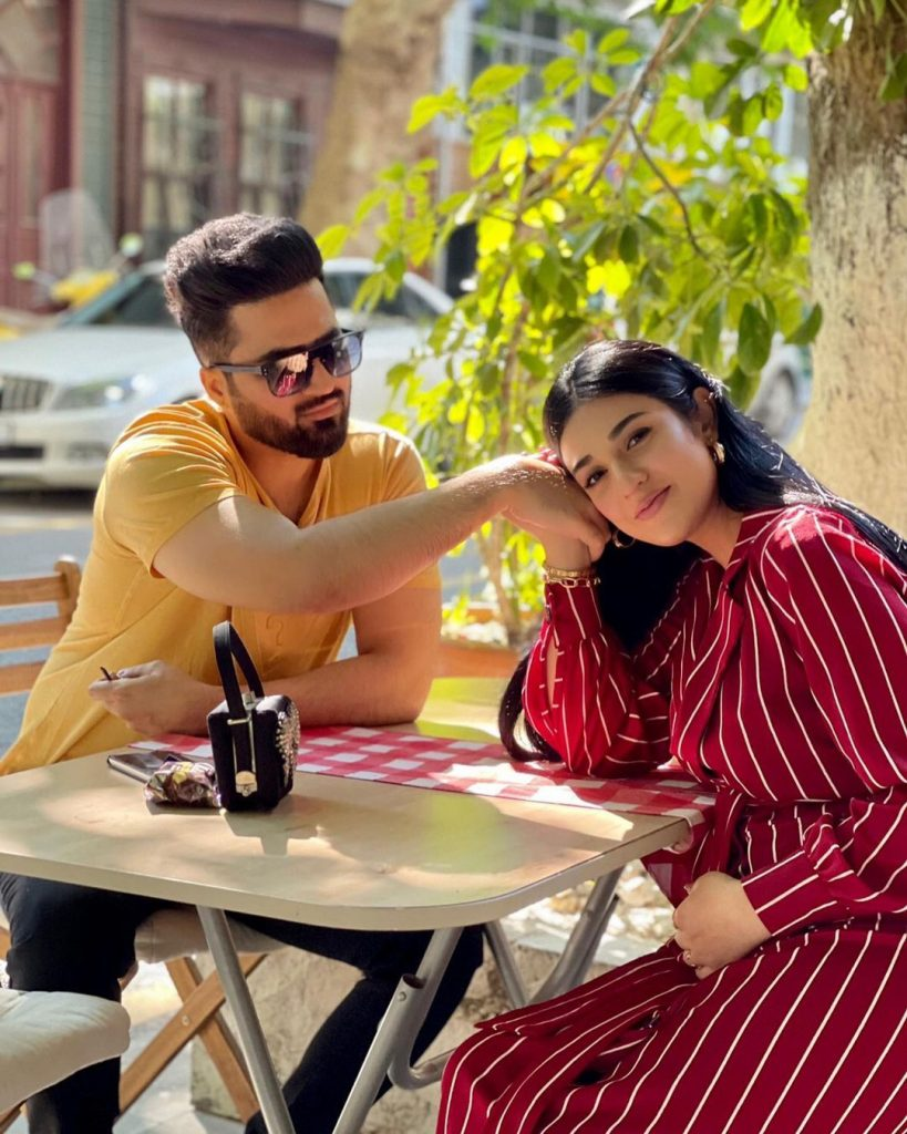 Falak And Sarah Beautiful Clicks Together