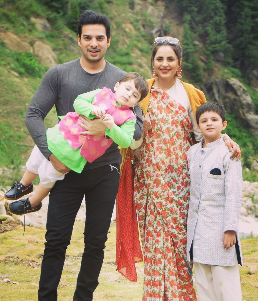Fatima Effendi Eid Pictures With Family