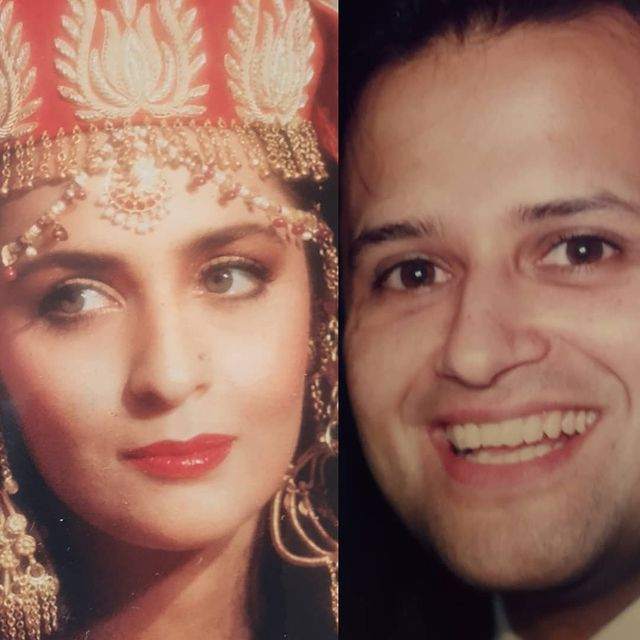 Hina Khwaja Bayat With Her Husband- Unseen Pictures