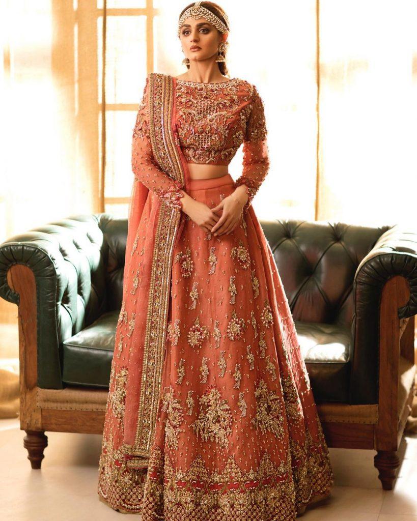 Alishba & Nabeel Bridal Collection Koh-e-Noor Featuring Hira Mani