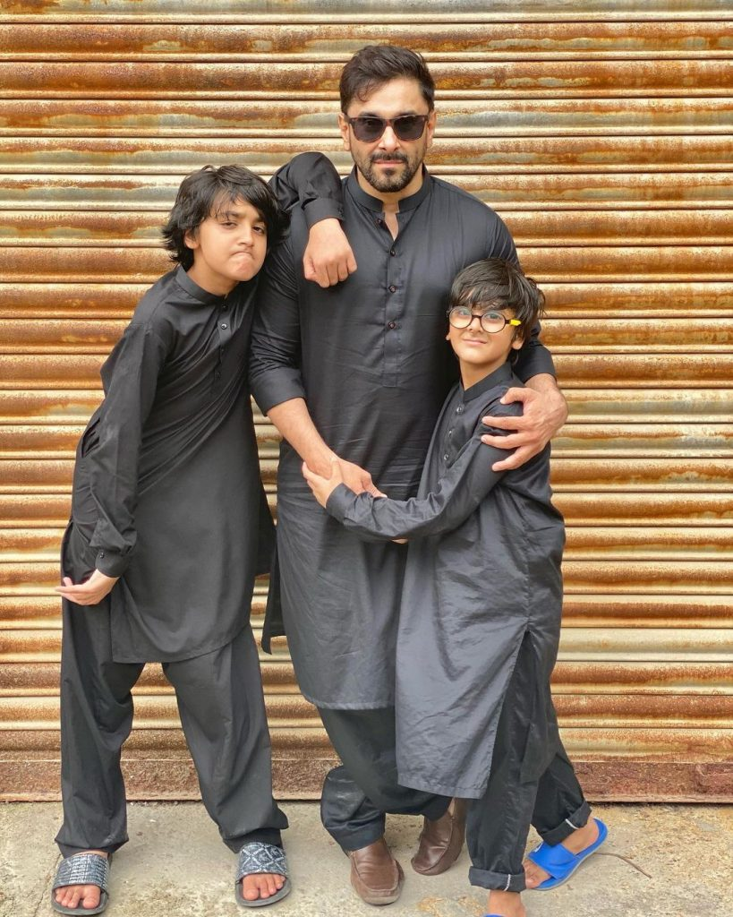 Hira Mani With Her Family - Beautiful Pictures From Eid-Ul-Adha 2021
