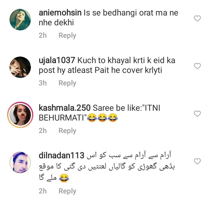 Hira Mani's Signature Saree Look Caused Fierce Criticism From The Netizens Again