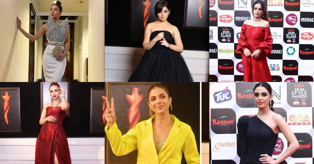 Pakistani Celebrities Reacted To The Dressing Of Actresses At HSA'21