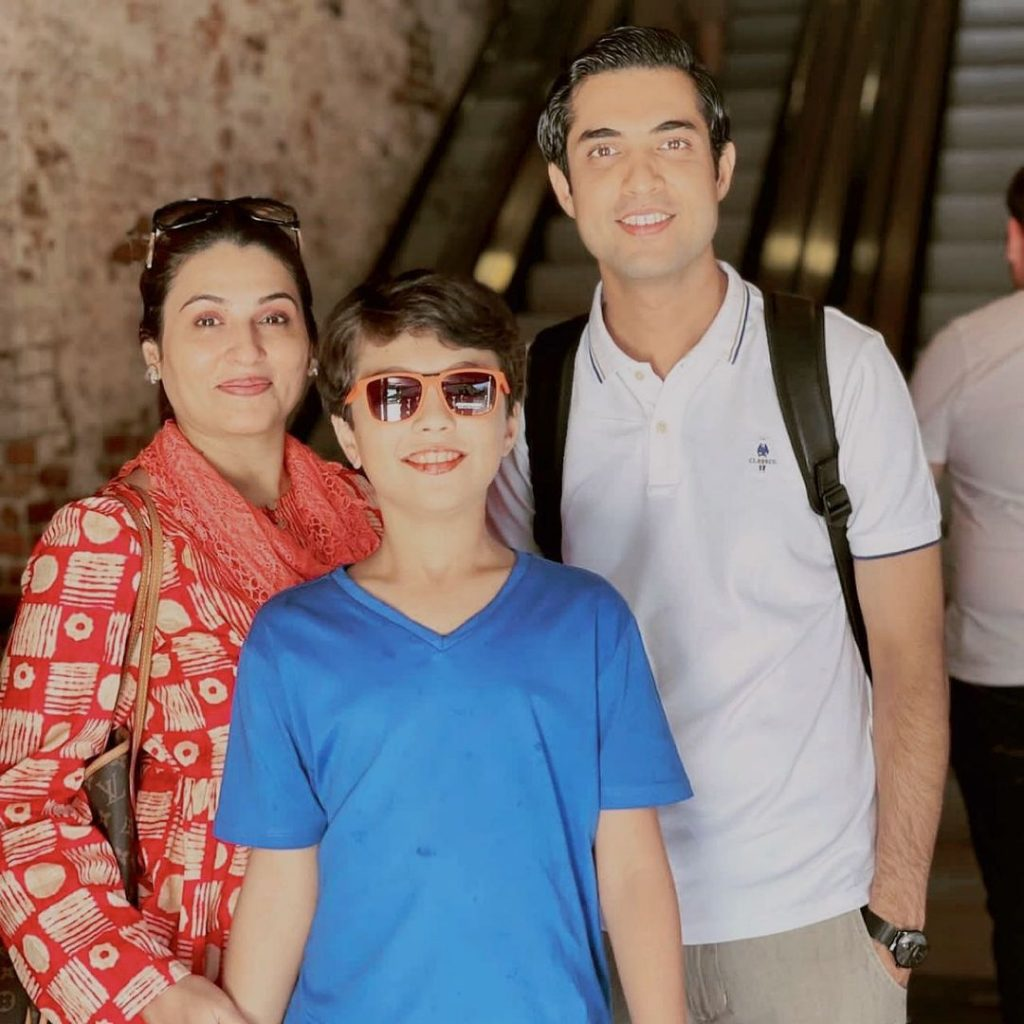 Latest Pictures Of Iqrar-Ul-Hassan With His Family From USA